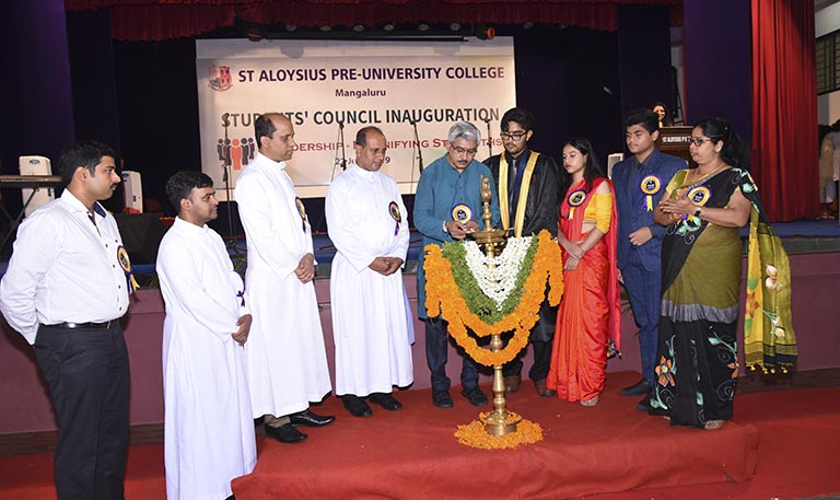 Students' Council Inaguration