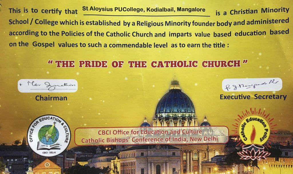 SAPUC- 'Pride of the Catholic Church'