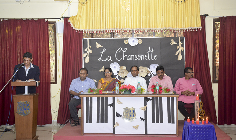 Inter-Collegiate French Singing Competition - 'La Chansonette'
